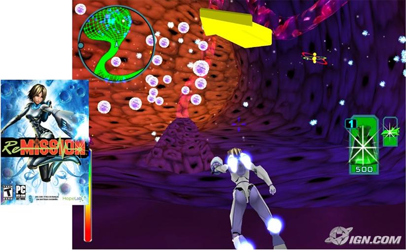 Re-Missioni - serious game ter bestrijding van kanker